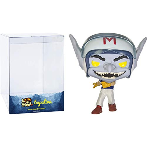 Speed Racer (Chase): Funk o Pop! Animation Vinyl Figure Bundle with 1 Compatible 'ToysDiva' Graphic...