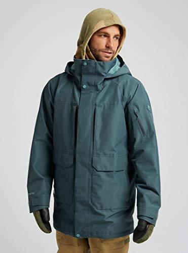 Burton MB Vagabond JKT - Chaqueta de esquí y snowboard para hombre, Hombre, gris oscuro, extra-small