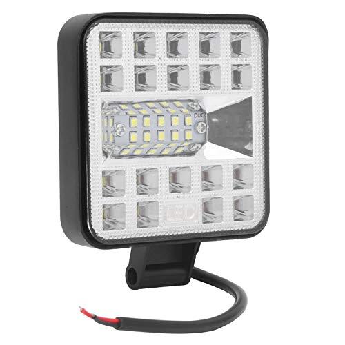 Luz de trabajo de alto brillo, cuadrado de luz LED, carcasa de aluminio impermeable, para vehículo todoterreno para coche