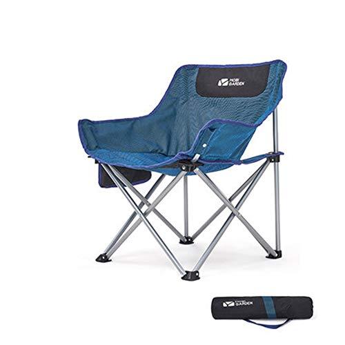 C/H Silla de camping portátil para senderismo, compacta, ligera, plegable, para exteriores, camping, senderismo, mochilero, pesca