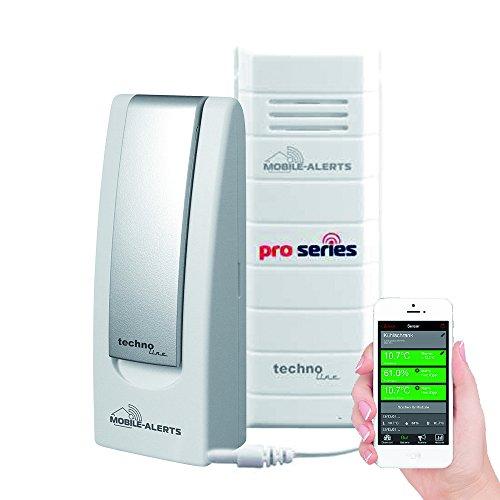 Technoline MA 10120 + Gateway Temperaturüberwachung, Weiß, 3,2x1,7x8,7 cm