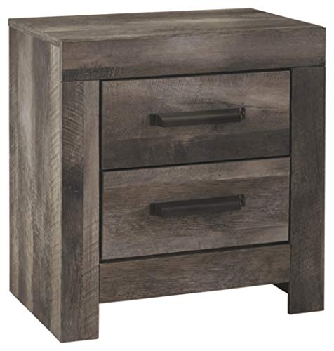 Signature Design by Ashley Wynnlow Nightstand, Gray