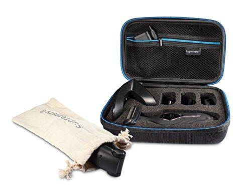 Supremery Funda para Philips Bodygroom Series 5000 bg2036/32 Caja Envoltura protectora Estuche Bolsa de transporte