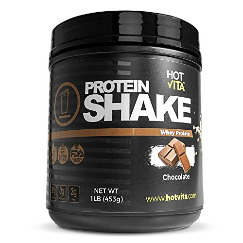 Hot Vita Meal Replacement Protein Shakes for Women - Gluten Free, Non-GMO, Meal Replacement Protein Powder for Weight Loss (Chocolate)