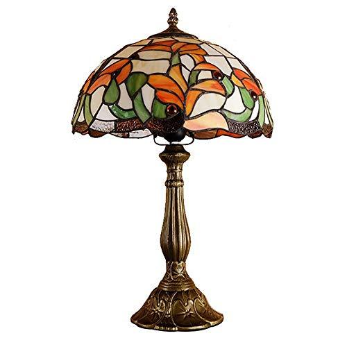 Zzyff Lámpara de Mesa Vintage Dormitorio de Lujo en la Cama de la Cama de la Cama de café Simple Study Art Creative Art Table Lámpara