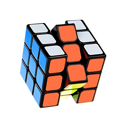 goosow Speed Cube,Magic Cube,3x3x3 Puzzle Magic Cube, 56mm Smoothly Quicky Twist Adjustable Speed Cube,Eco-friendly Durable Material ABS,Puzzle Cube For Kids Boys Toddler