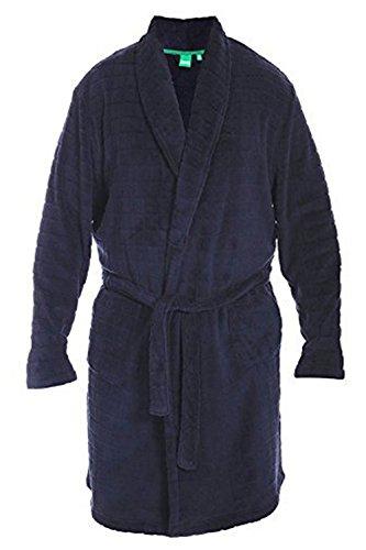 Duke London - Robe de chambre - Homme - Bleu - XXXX-Large