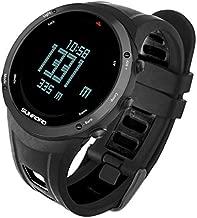 SUNROAD Men's Digital Fitness Barometer Altimeter Compass Waterproof Watch with Outdoor Screen Large Face Altimeter Watches & Waterproof Casual Luminous Stopwatch Wristwatch