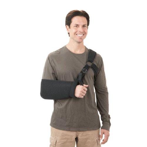 BREG '00070 Sling, Orthopedic Universal Right/Left Shoulder for Glenohumeral Dislocations Subluxation Arthroscopic Soft Tissue Repair Atlas Minor Latex-Free