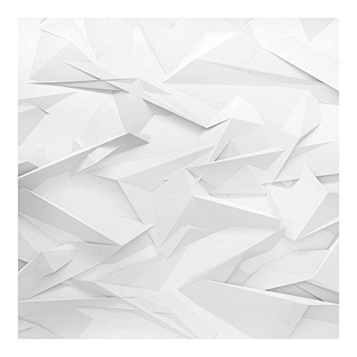 Bilderwelten Fotomural - Abstract 3D Optics - Mural cuadrado papel pintado fotomurales murales pared papel para pared foto 3D mural pared barato decorativo, Dimensión Alto x Ancho: 336cm x 336cm