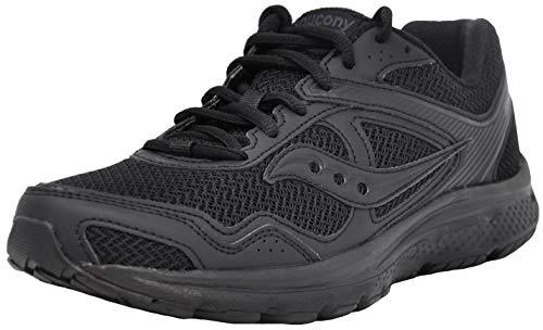 Saucony Women's Cohesion 10 Running Shoe, Black/Black, 8 M US
