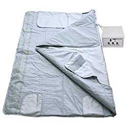 Gizmo Supply Blanket Far Infrared FIR Sauna Blanket 3 Zones (2nd Gen v2)