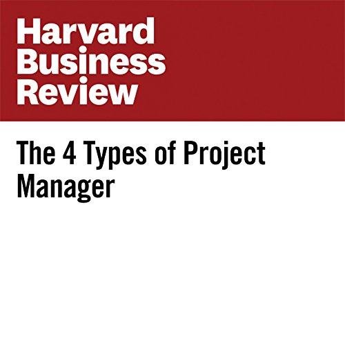 The 4 Types of Project Manager audiobook cover art