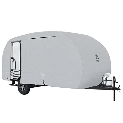 Classic Accessories PermaPro Heavy Duty R-Pod Travel Trailer Cover, Model 4, Grey (Limited