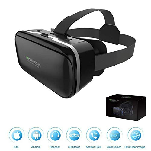 Fantastic Deal! XGVRYG Virtual Reality Headset 3D VR Headset,3D VR Glasses Suitable for All Smartpho...