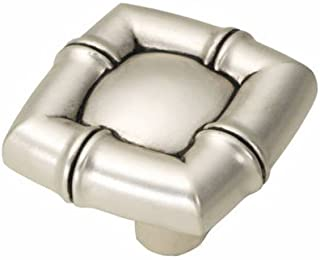 Belwith Products P3443-SAS Knob, 1-1/4-Inch, Satin Antique Silver