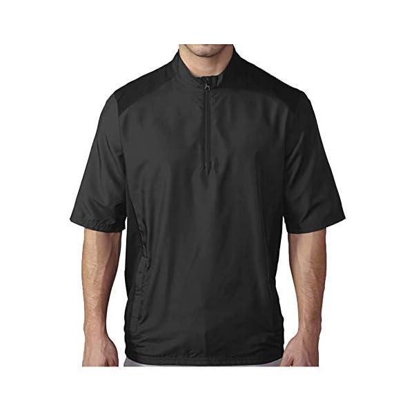 adidas Golf Men's Club Wind Short Sleeve Jacket 1