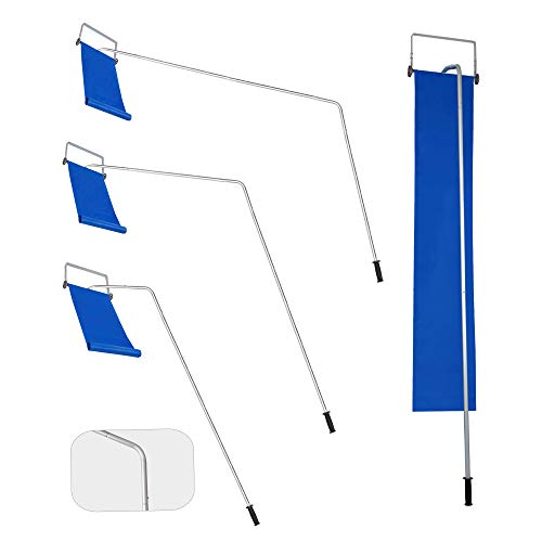 BOOWAY Roof Snow Rake Removal Tool 20ft with...