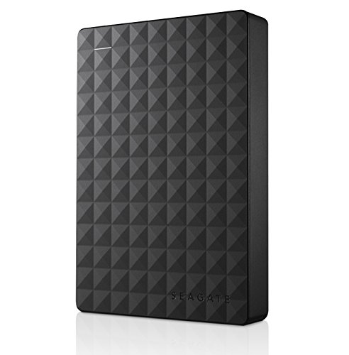 Seagate Expansion Portable 4TB External Hard Drive Desktop HDD – USB 3.0 for PC Laptop (STEA4000409)