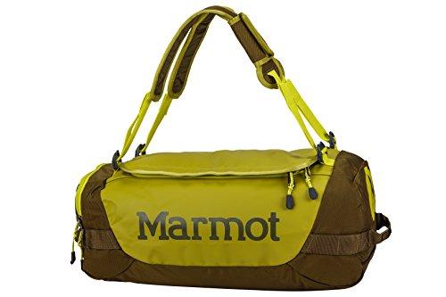 Marmot Long Hauler Duffle Bag S Reisetasche, Dark Citron/Dark Olive, 29 x 50.5 x 20.5 cm, 38 Liter