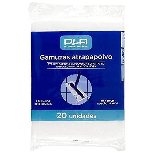 PLA Gamuza Atrapapolvo, Set de 20 Unidades, 720
