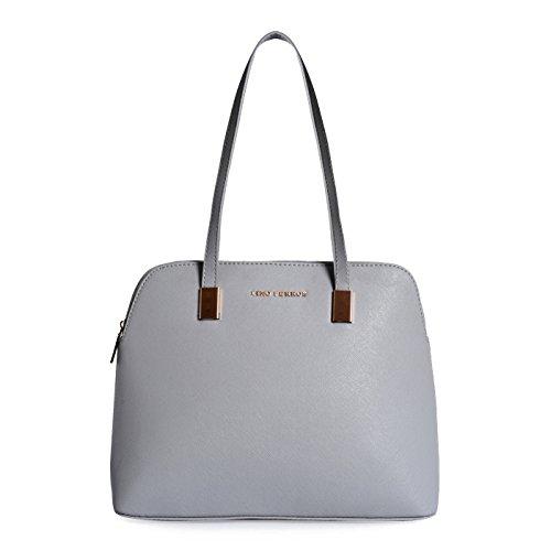 Lino Perros Grey Hand bag (Grey)