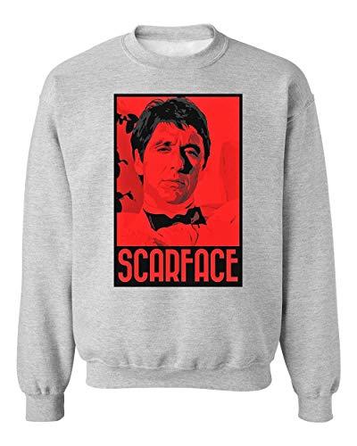 YoBrand Scarface Artwork Unisex Sweatshirt Sweater Jumper Medium