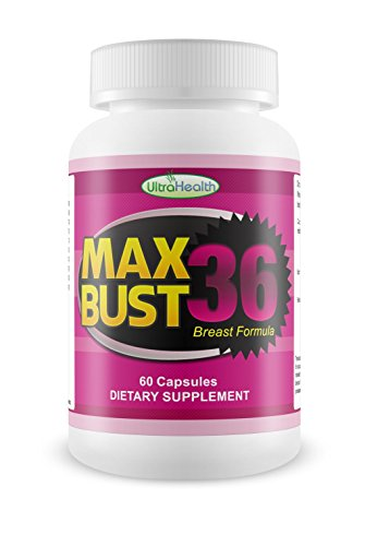 Best Natural Herbal Breast Enhancement Pills, Volume Enlargement Action with MaxBust36, Breast Lifting Anti Sagging Supplement