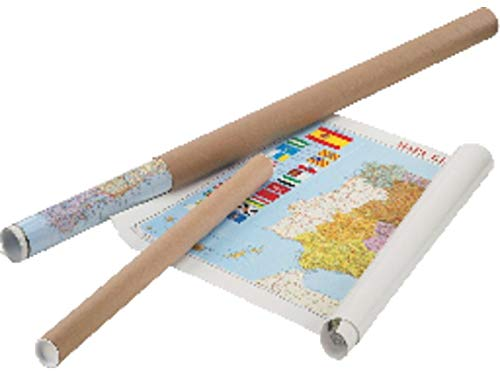 Faibo 153G - Mapa de España plastificado, sin marco