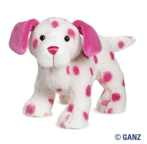 Webkinz Pink Dalmatian with Trading Cards