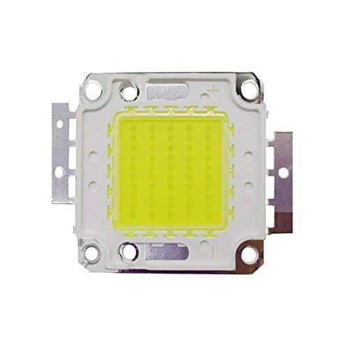 Tesfish 50W LED chip luz lámpara blanco DC 30 ~ 34V alta energía ahorro de energía chip lámpara