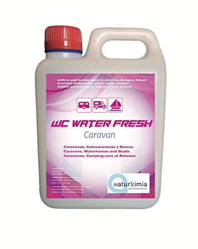 WC WATER FRESH Caravan, aditivo perfumado para la cisterna de descarga del WC - 2L