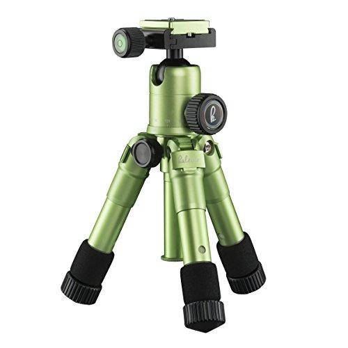 Mantona 21186 tripode Digitales / cámaras de película 3 pata(s) Verde - Trípode (Digitales / cámaras de película, 5 kg, 3 pata(s), 49,5 cm, Verde, Sistema de bloqueo por giro Twist Lock o Sistema de cierre tipo rosca Twist Lock)