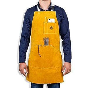 Heavy Duty Leather Welding Apron 6
