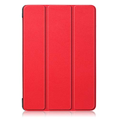 GHC PAD Cases & Covers For Samsung Galaxy Tab A 10.1 SM-T510/T515/ Tab A 10.5 T590/T595, Tablet Stand Cover Tab S5E 10.5 T720/T725 Case+film+pen (Color : Red, Size : Tab A 10.1 2019 T510)