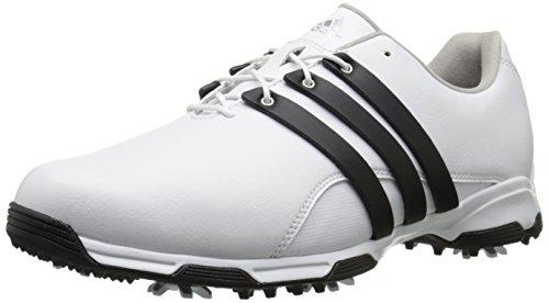 adidas Men's Pure TRX-M, White/Core Black/FTWR White, 9 M US