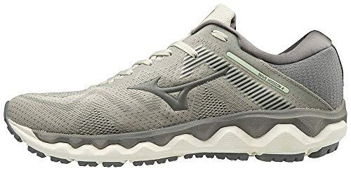 Mizuno Men's Horizon 4 Running Shoe, Pelican-Steel Grey, 9.5 D