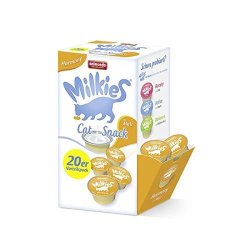 animonda Milkies Harmony Kapseln 20 x 15g Vorratspackung Katzensnack