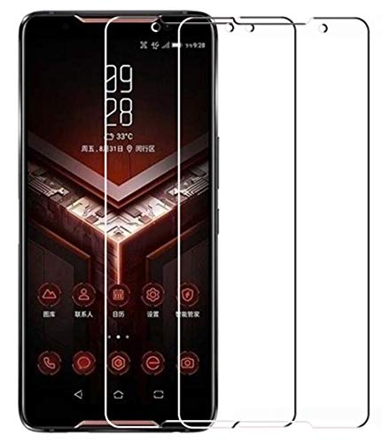 Vicstar [2 Stück] ASUS Rog Phone/ZS600KL Panzerglas Bildschirmschutzfolie, 9H Festigkeit Anti-Kratzen [2.5D Folie] [Bubble Free][Full Scratch Protection] Schutzfolie für ASUS Rog Phone/ZS600KL