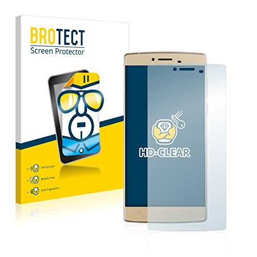 BROTECT Schutzfolie kompatibel mit Cubot S600 (2 Stück) klare Bildschirmschutz-Folie