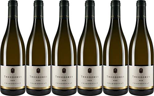 Theodorus Wein- und Sektgut Chardonnay ** Ortswein Edesheim 2016 Trocken Bio (6 x 0.75 l)