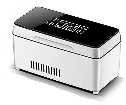 Nuevo refrigerador portátil para medicamentos: Enfriador de insulina con una Temperatura de 0-18 ° C para Mantener el Enfriador de insulina para el automóvil, los Viajes y el hogar Happy Life