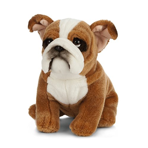 Living Nature Soft Toy - Stofftier Englische Bulldogge (20cm)