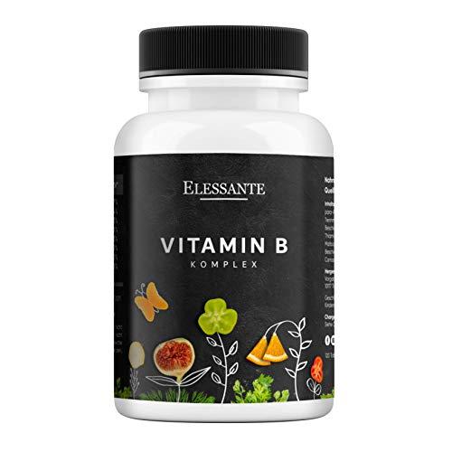 Vitamin B Komplex mit B12,B1 B2 B3 B5 B6 B12 B10 Folsäure Biotin & B10. B-komplex zur Immunsystems & Energie. B-Vitamine Komplex für Männer-Frauen. B Vitamin Forte 120 Stück. Vit B-Komplex Vegan