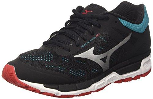 Mizuno Synchro MX, Zapatillas de Running para Hombre, (Limepunch/blueaster/jasminegreen), 42 EU