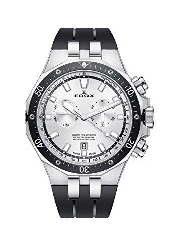 [エドックス]EDOX 腕時計 デルフィン クォーツクロノグラフ 10109-3CA-AIN メンズ 【正規輸入品】
