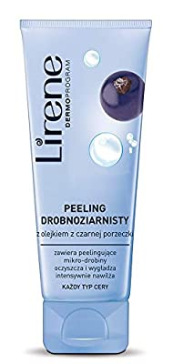 Lirene Fine-grain Peeling With Black Currant Oil 75ml