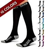 SB SOX Compression Socks (20-30mmHg) for Men & Women - Best Stockings for Running, Medical, Ath…