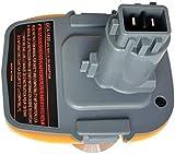 DeWalt - Adaptador de batería de repuesto para DeWalt DCA1820 DCB090 (batería de litio de 18 V-20 V, con USB Mobile Power)