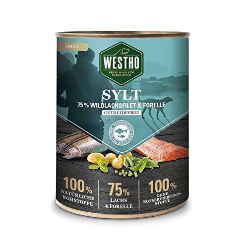 Westho 6 x Sylt 800g (mit 75% Wildlachs & Forelle)